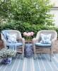 Poduszka Hamptons Nº 1 Maya, poszewka dekoracyjna, styl Hampton