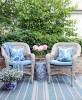 Poduszka Hamptons Nº 2 Abigail, poszewka dekoracyjna, styl Hampton