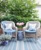 Poduszka Hamptons Nº 4 Mia, poszewka dekoracyjna, styl Hampton