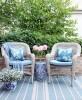 Poduszka Hamptons Nº 5 Ellie, poszewka dekoracyjna, styl Hampton