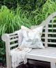 Poduszka Hamptons Nº 8 Lyla, poszewka dekoracyjna, styl Hampton