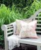Poduszka Hamptons Nº 9 Amy, poszewka dekoracyjna, styl Hampton