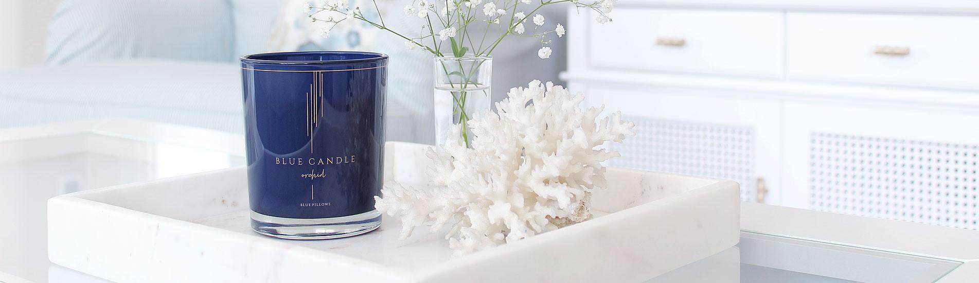Świeca sojowa Blue Candle