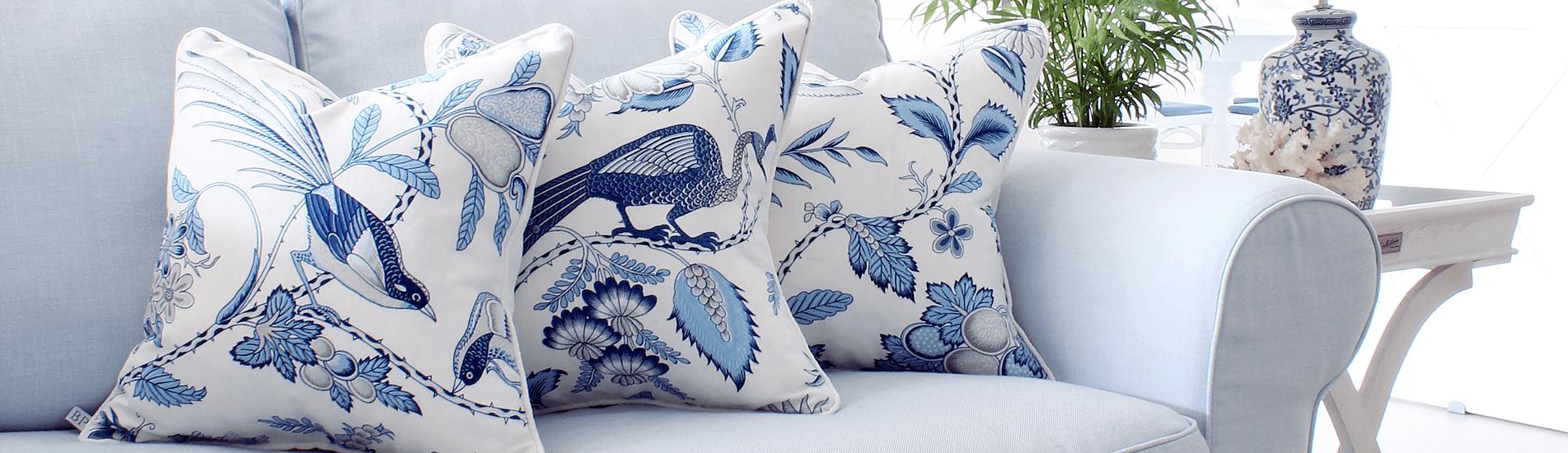 Poduszki dekoracyjne w stylu Hamptons